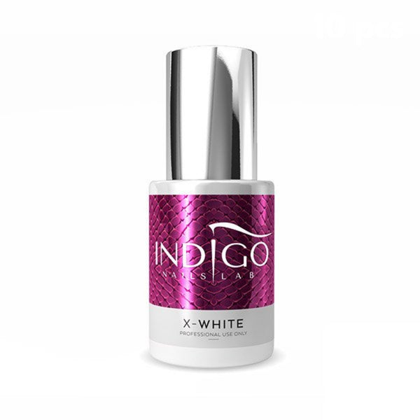 Gel Brush color blanco X-White Indigo - Kissbel