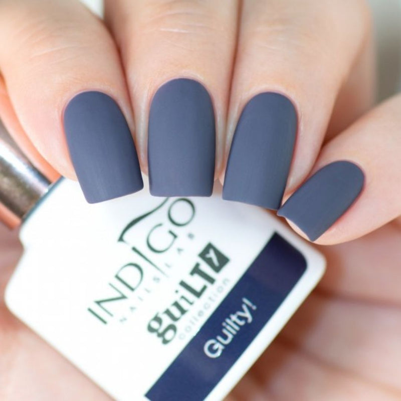 Guilty! esmalte semipermanente Indigo - Kissbel