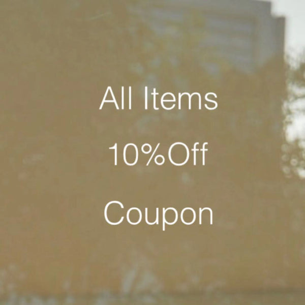 All Items 10%Off Coupon