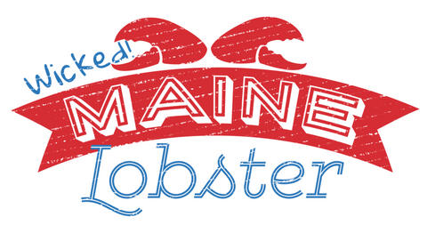 Wicked Maine lobster logo