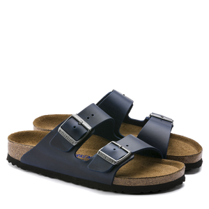 Arizona Soft Footbed Blue Oiled Leather (Women)