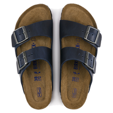 Load image into Gallery viewer, Arizona Soft Footbed Blue Oiled Leather (Men)