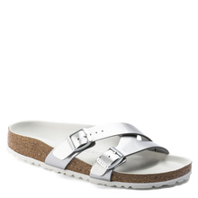 Load image into Gallery viewer, Yao Metallic Silver Birko-Flor (Women)