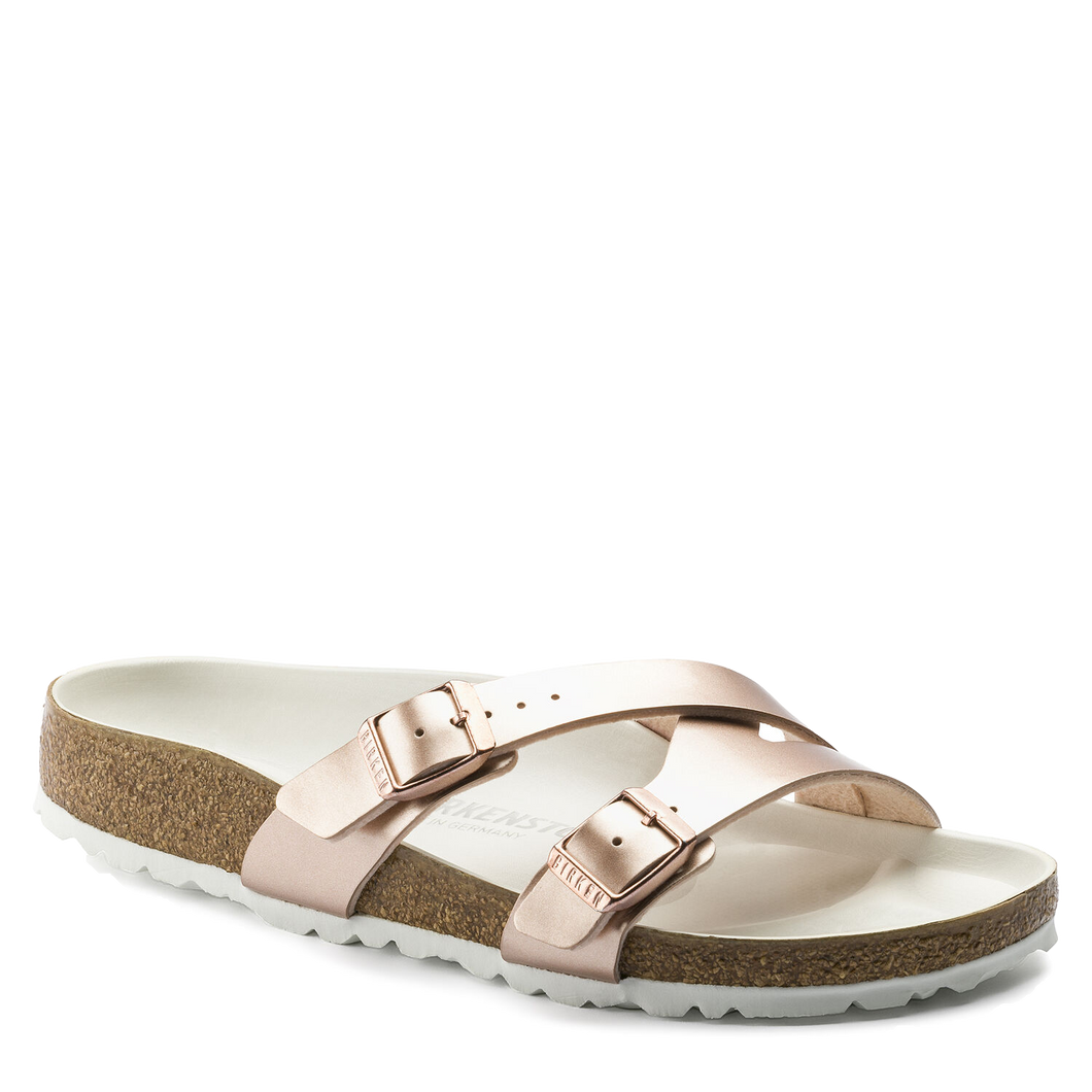 Yao Metallic Copper Birko-Flor (Women)