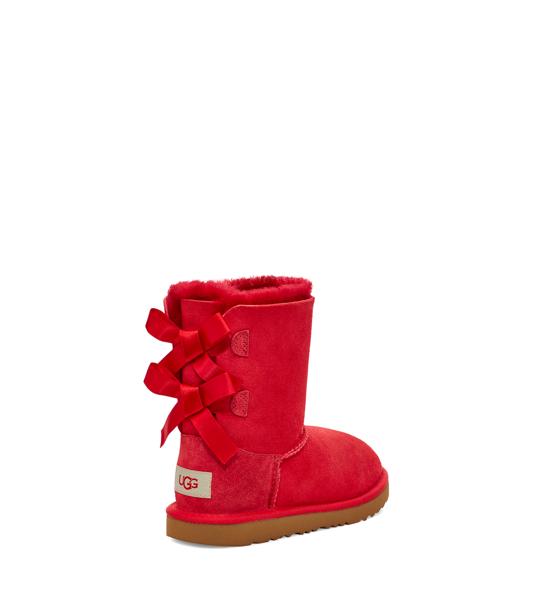 Toddlers Bailey Bow II Ribbon Red