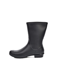 Load image into Gallery viewer, Sienna Matte Rain Boot Black