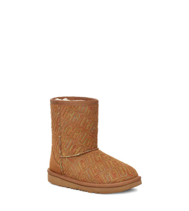 Toddlers Classic II Graphic Stitch Chestnut