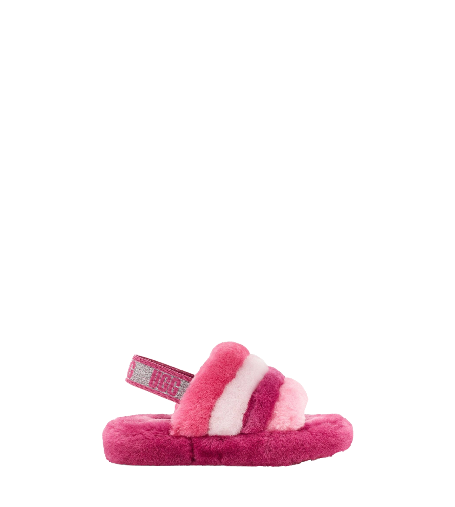 Kids Fluff Yeah Slide Pink Multi