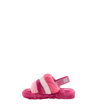 Load image into Gallery viewer, Kids Fluff Yeah Slide Pink Multi