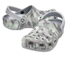 Load image into Gallery viewer, Classic Clog Camo Light Grey (Unisex)