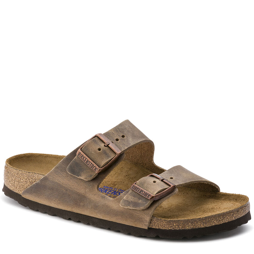 Arizona Soft Footbed Tobacco Oiled Leather (Women)