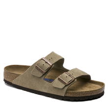 Load image into Gallery viewer, Arizona Soft Footbed Taupe Suede (Women)