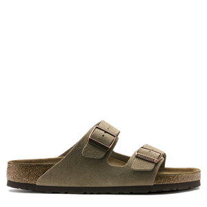 Arizona Soft Footbed Taupe Suede (Women)