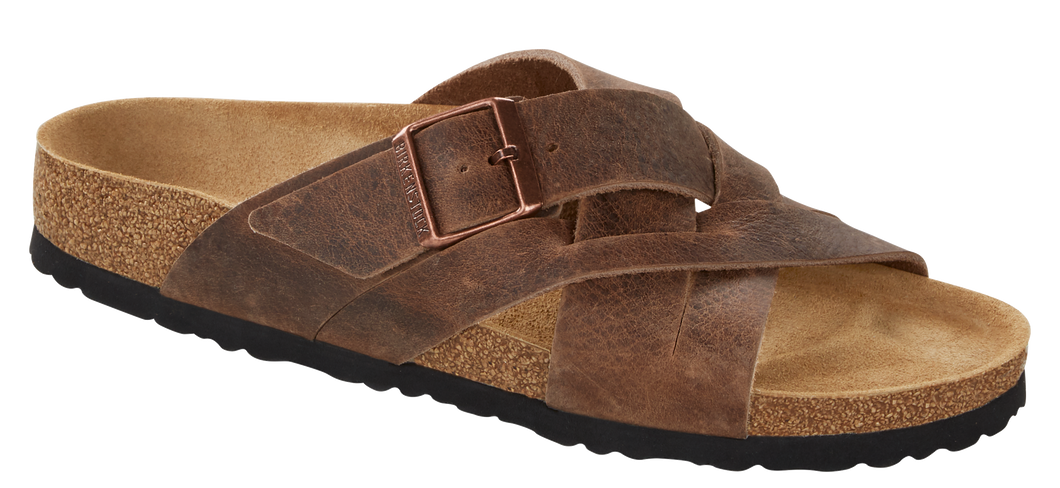 Lugano Tobacco Oiled Leather (Men)