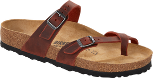 Mayari Earth Red Oiled Leather (Women)