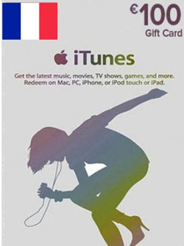 iTunes u20ac100 Gift Card FR