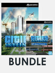 Cities: Skylines Bundle 2 (Incl. Cities: Skylines + Cities: Skylines - Mass Transit DLC)