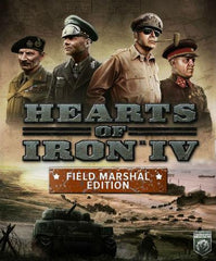 Hearts of Iron IV (Field Marshal Edition ) Uncut