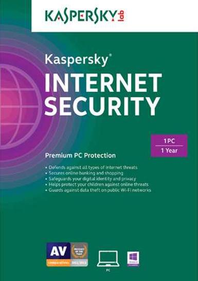 Kaspersky Internet Security 2014 1 Year 1 PC