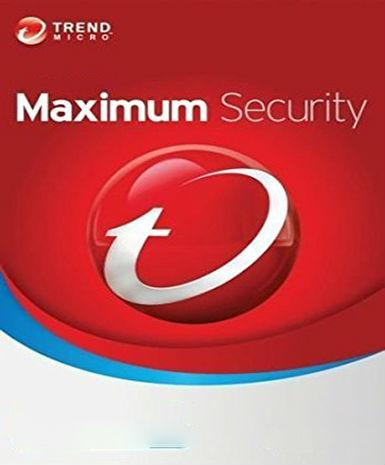 Trend Micro Maximum Security 2016 1 Year 5 Pc