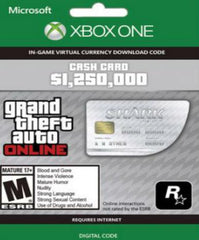 Grand Theft Auto V GTA: Great White Shark Cash Card - Xbox One