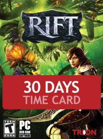 Rift 30-days time card