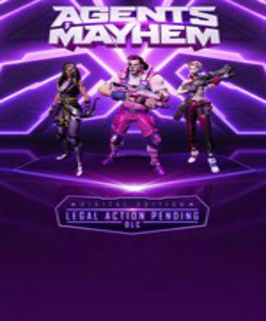 Agents of Mayhem - Legal Action Pending DLC
