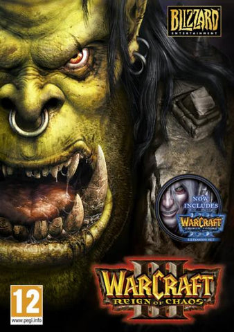 Warcraft 3 (Gold Edition inc. The Frozen Throne)