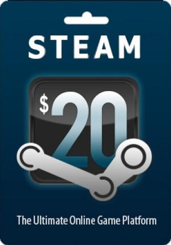 Steam Gift Card 20 $