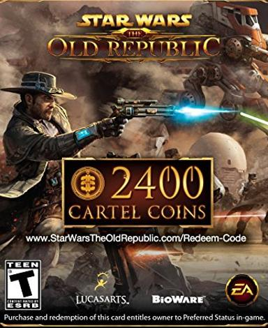 Star Wars: The Old Republic (SWTOR) 2400 Cartel Points
