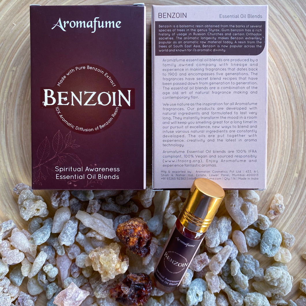 Benzoin Resin Essential Oil Blend Roll On (Set of 3)