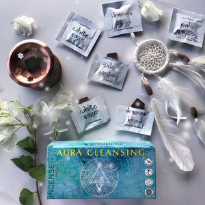 Aura Cleansing Incense Bricks Set