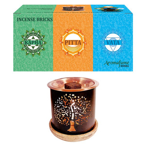3 Dosha Incense Brick Gift Set