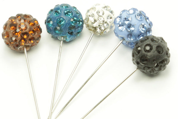 Disco Ball Hijab Pins