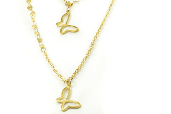 Gold 2 Layer Necklace