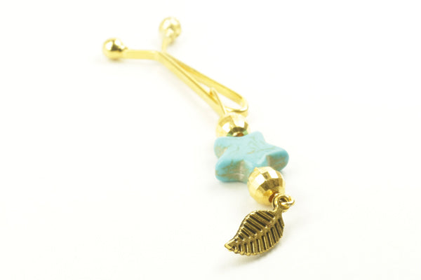 Turquoise Hijab Clips