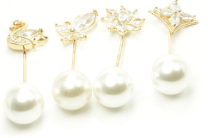 Pearl Long Hijab Pins