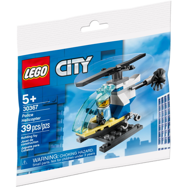 30367 City Police Helicopter Polybag