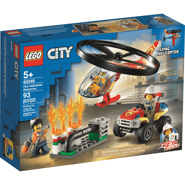 60248 Fire Helicopter Rescue [CERTIFIED USED]