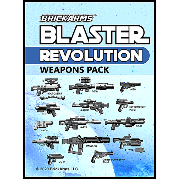 Blaster Weapons Pack - Revolution