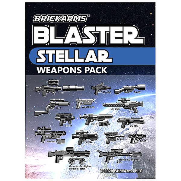 Blaster Weapons Pack - Stellar