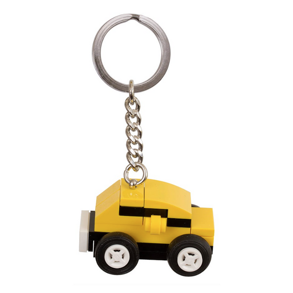 853573 Yellow Car Key Chain