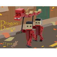 Dragon Dance custom LEGO® kit