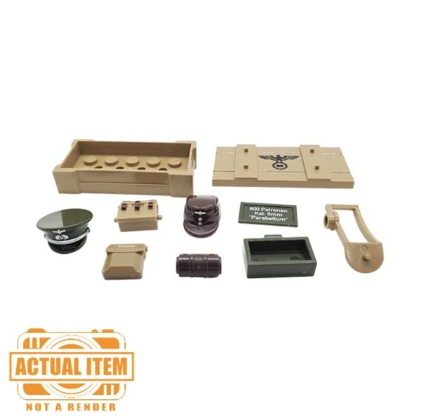 WW2 German Supply Crate Accessory Pack