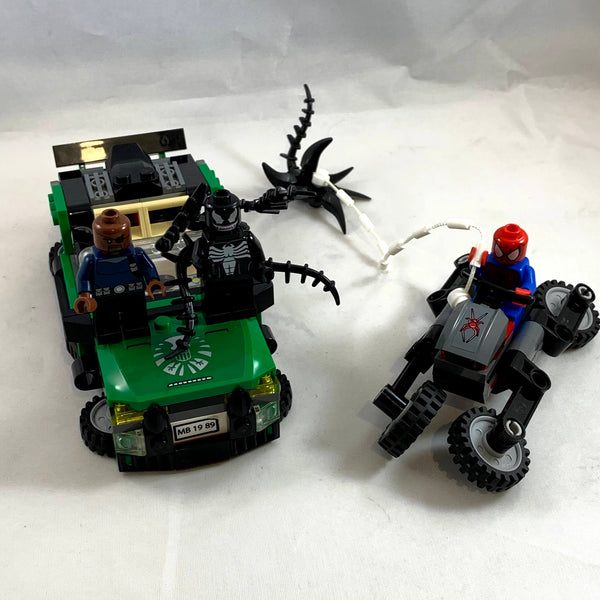 76004 Spider-Man: Spider-Cycle Chase [USED]