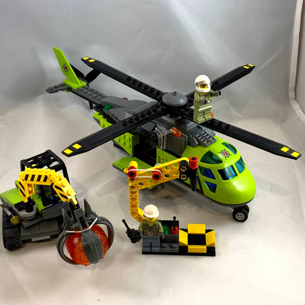60123 Volcano Supply Helicopter [USED]
