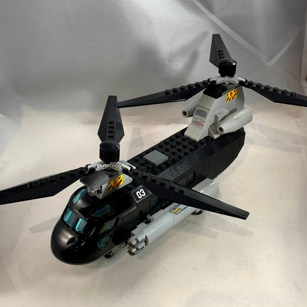 76162 Black Widow's Helicopter Chase [USED]