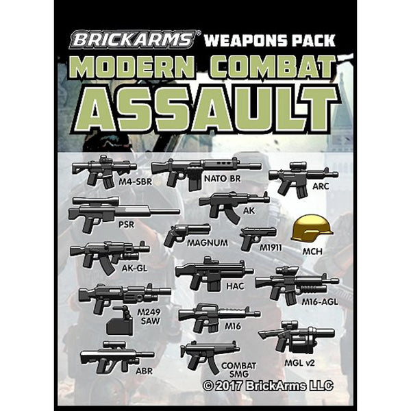 Modern Assault Weapons Pack