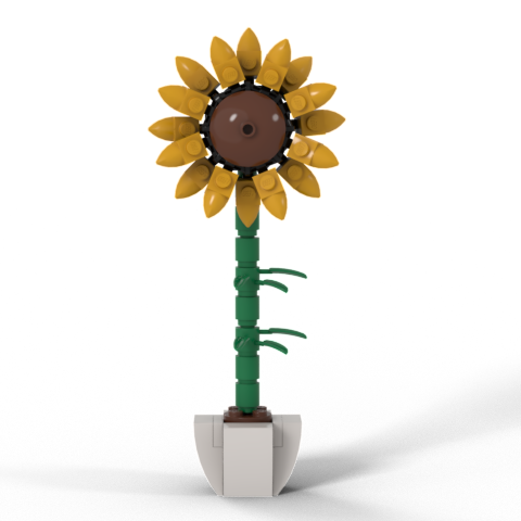 Sunflower Custom LEGO® Kit