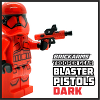 Trooper Gear DARK Blaster Pistols (x2)